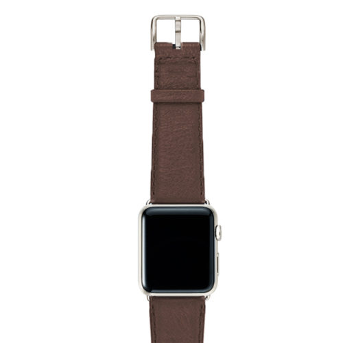 Chestnut-brown-nappa-band-on-top-with-stainless-steel-adaptors