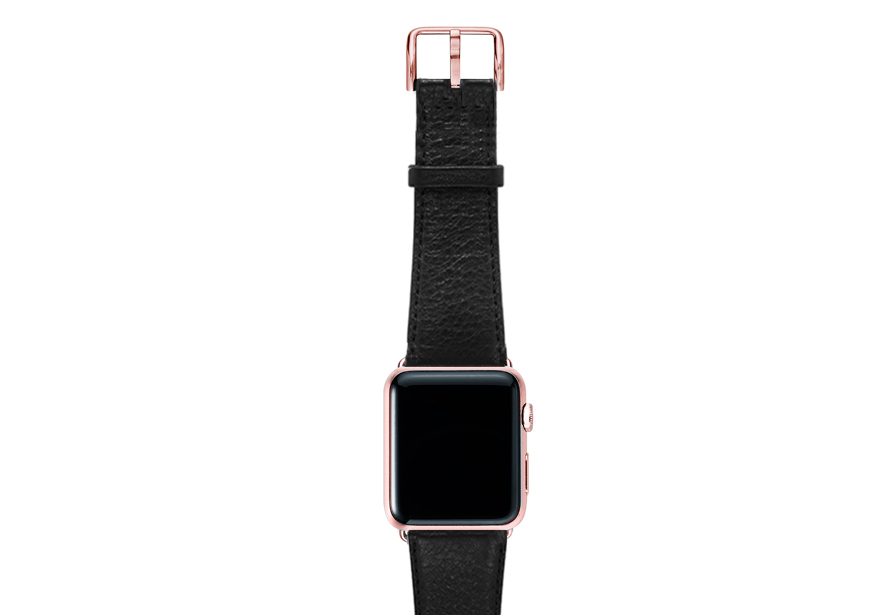 Ink-black-nappa-band-on-top-with-rose-gold-adaptors