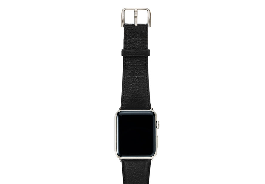 Ink-black-nappa-band-on-top-with-stainless-steel-adaptors