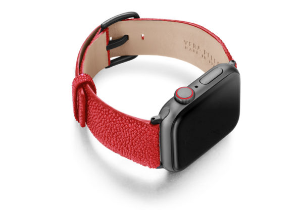 Maldives-AW-red-stingray-leather-band-with-case-on-right
