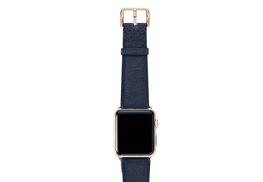 Mediterranean-blue-nappa-band-on-top-with-gold-series3-adaptors