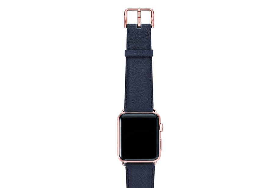 Mediterranean-blue-nappa-band-on-top-with-rose-gold-adaptors
