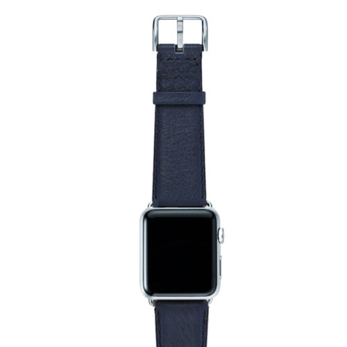 Mediterranean-blue-nappa-band-on-top-with-silver-adaptors