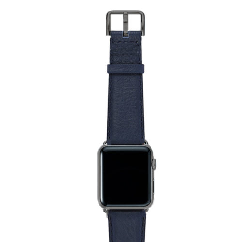 Mediterranean-blue-nappa-band-on-top-with-space-grey-adaptors