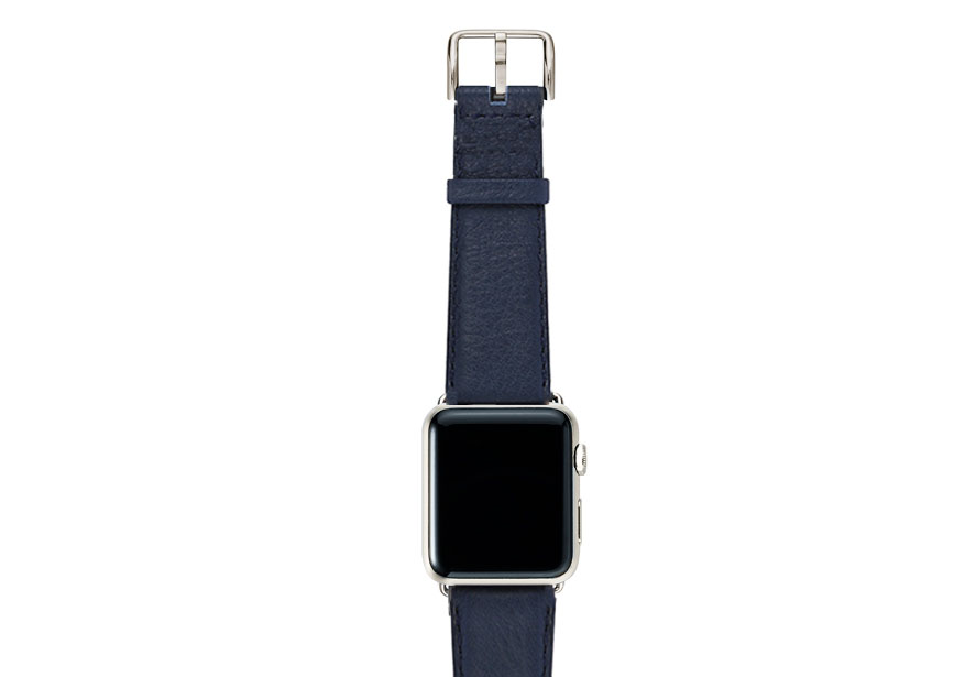 Mediterranean-blue-nappa-band-on-top-with-stainless-steel-adaptors
