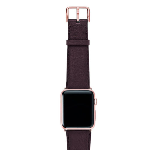 Burgundy-nappa-band-on-top-with-rose-gold-adaptors