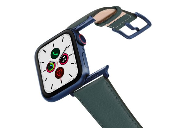 Denim-AW-nappa-band-on-air-with-blue-adapters