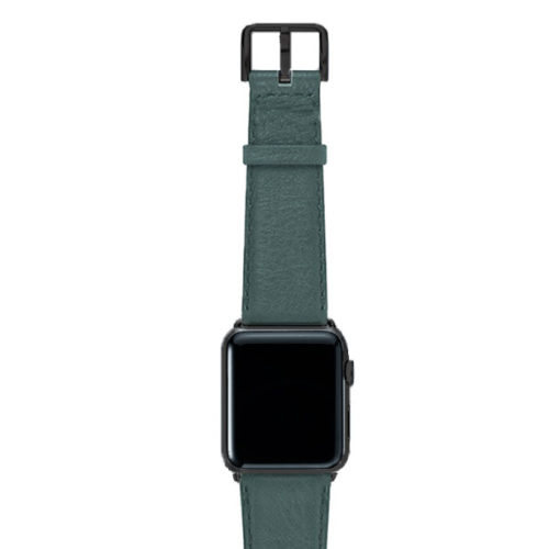 Denim-nappa-band-on-top-with-stainless-black-adaptors