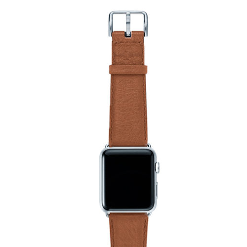 Goldstone-light-brown-band-on-top-with-silver-adaptors