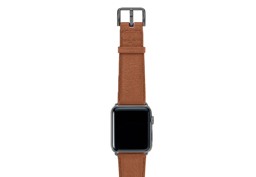 Goldstone-light-brown-band-on-top-with-space-grey-adaptors