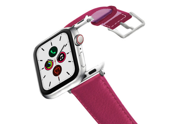 Scarlets-Velvet-AW-nappa-leather-band-stainless-steel-case-on-air