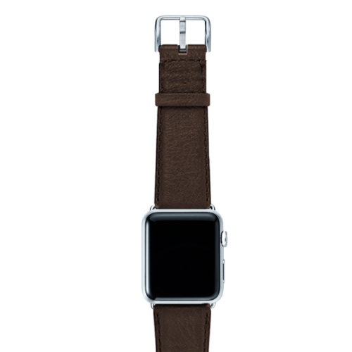 Slate-Brown-nappa-band-on-top-with-silver-adaptors