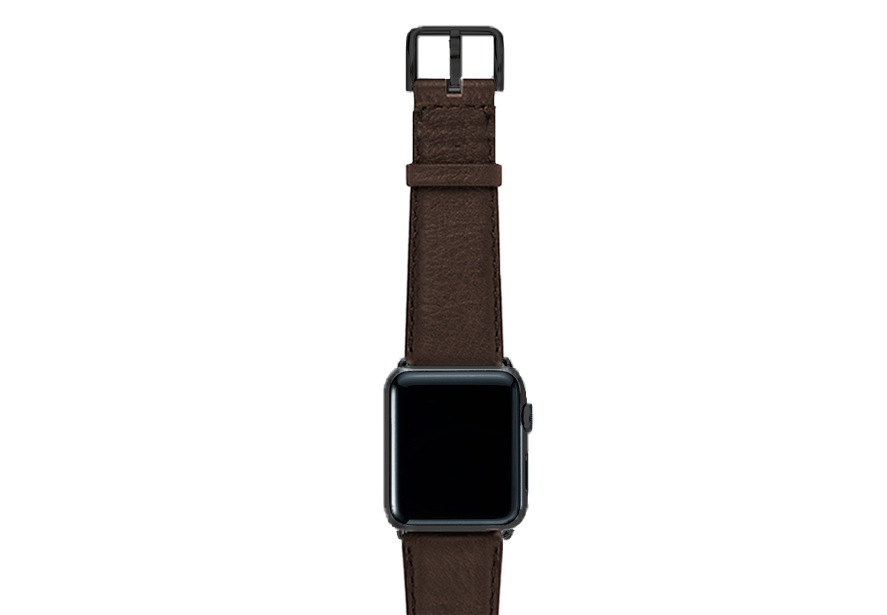 Slate-Brown-nappa-band-on-top-with-stainless-black-adaptors