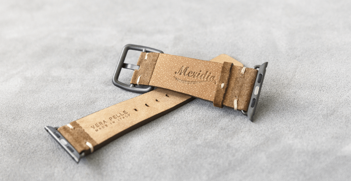 Reindeer-Apple-watch-suede-band-on-back-sides