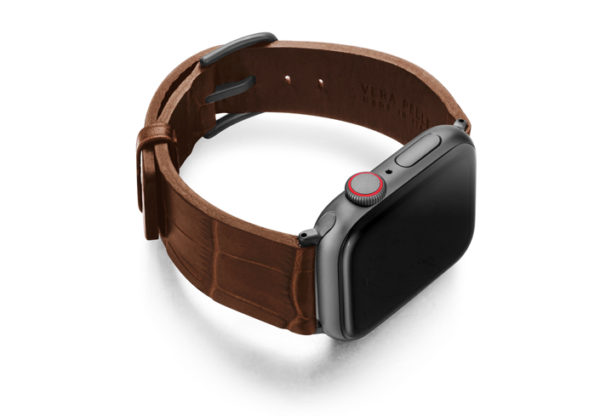 Sweetwood-Apple-watch-light-brown-genuine-leather-band-right-case
