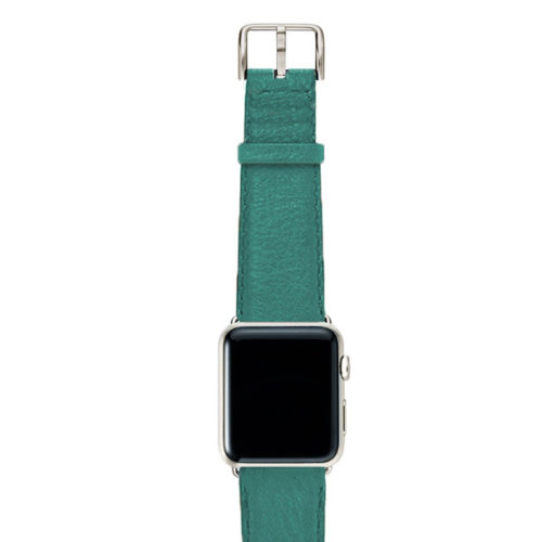 Turquoise-nappa-band-on-top-with-stainless-steel-adaptors
