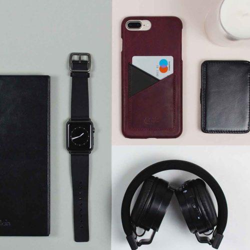Grapewine+Cassel-combo-Apple-leather-accessories-on-white-desktop