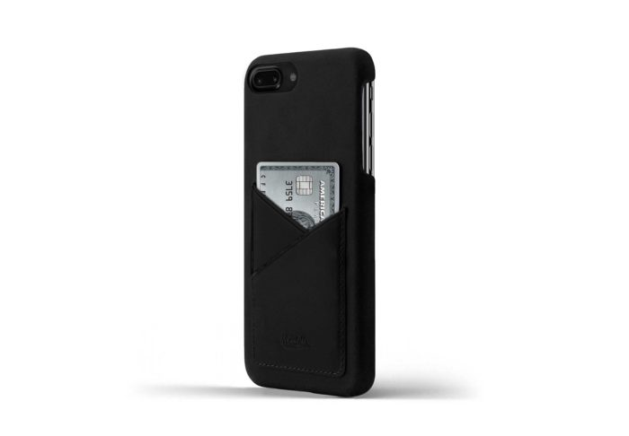 iPhone-8-plus-black-Leather-case-on-side