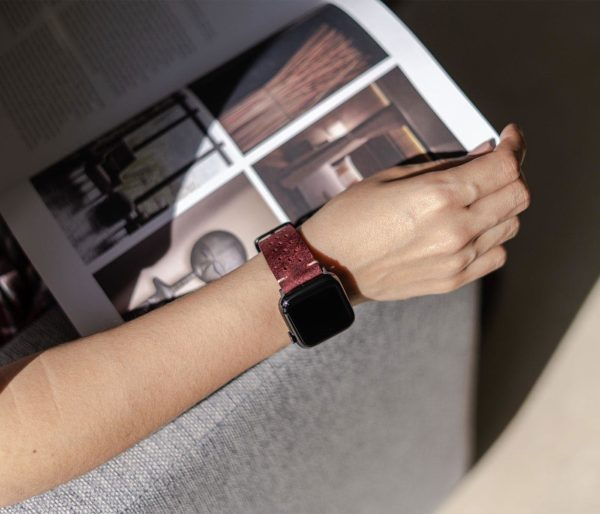 AW-bullet-proof-red-leather-band-on-top-view-reading-a-magazine