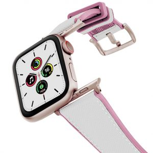 Pink_Sand_Caoutchouc_band_aluminium_gold_case_flying