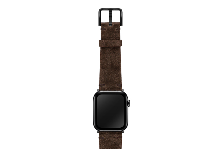 Deep-Foosil-AW-ancient-leather-band-on-top-stainless-black