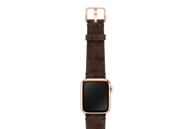 Deep-Foosil-AW-ancient-leather-band-on-top-stainless-gold