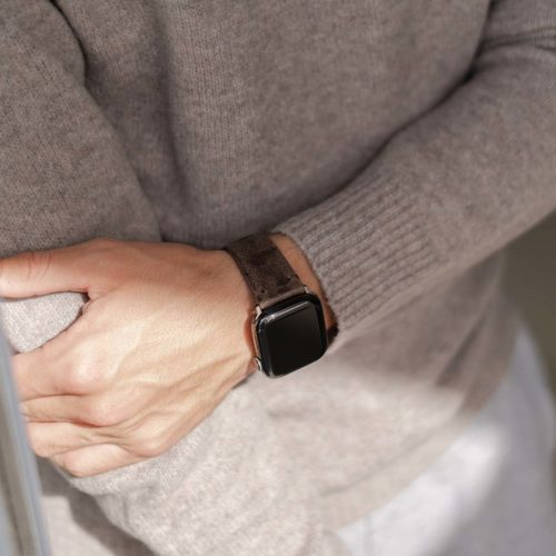 Deep-Fossil-AW-brown-ancient-leather-band-on-top-for-him