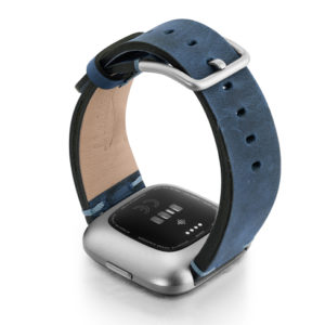 Arctic-Blue-Fitbit-nappa-leather-band-with-back-case