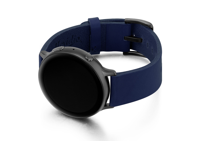 Blue-England-leather-band-with-case-on-left-and-space-grey