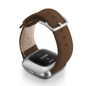 Chestnut-Fitbit-nappa-leather-band-with-back-case