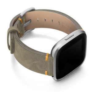 Dried-herb-Fitbit-vintage-band-with-right-case