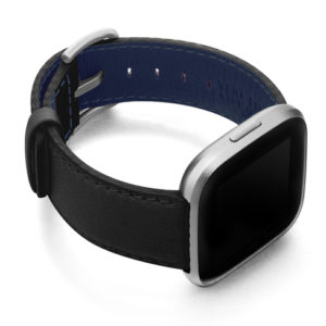 Ink-Fitbit-black-nappa-leather-band-with-case-on-right