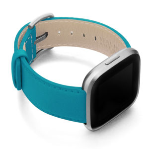 Turquoise-Fitbit-nappa-band-with-right-case.