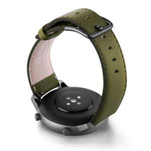 Amazfit-GTR-musk-green-nappa-leather-band-back-case