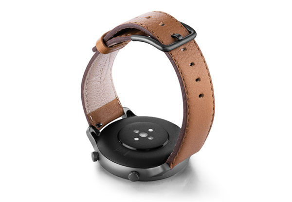 Goldstone-Amazfit-GTR-nappa-leather-band-with-display-on-BACK