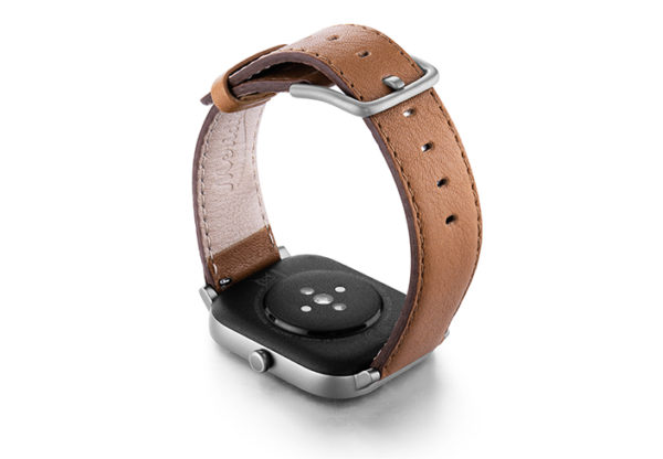 Goldstone-Amazfit-GTs-nappa-leather-band-with-display-on-BACK