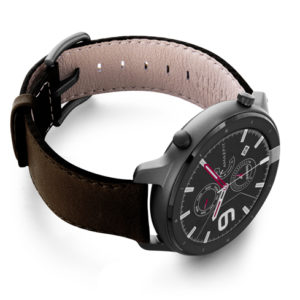 Amazfit-GTR-slate-brown-nappa-leather-band-with-display-on-right