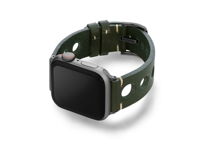 Green-AW-urban-leather-band-on-left-space-grey