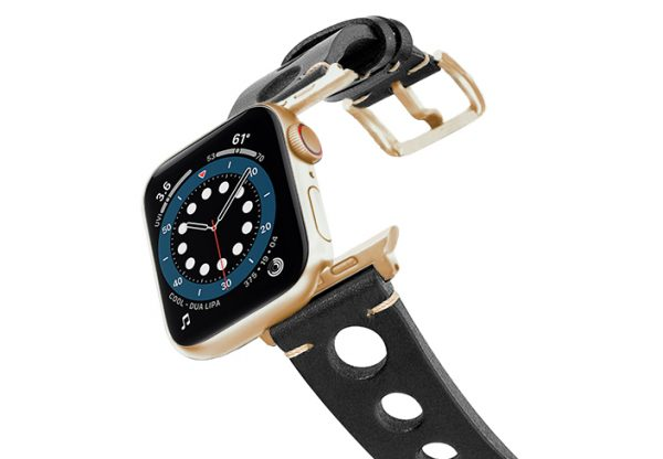 Black-AW-urban-leather-band-on-air-alluminium-gold-adapters