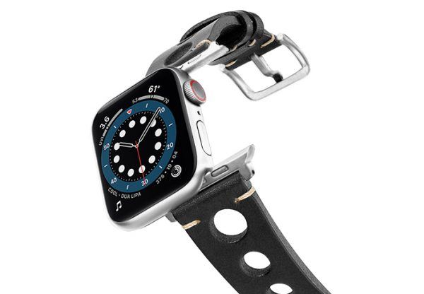 Black-AW-urban-leather-band-on-air-stainless-steel-adapters