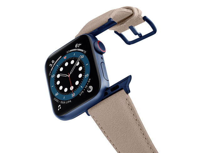 Bisque-Apple-watch-vegan-leather-band-flying-view_blue_case