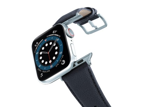 Blue_cider-Apple-watch-vegan-leather-band-flying-view_alluminium_silver_case