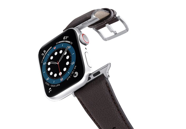Pumila-Apple-watch-vegan-leather-band-flying-view_stainless_steel_case