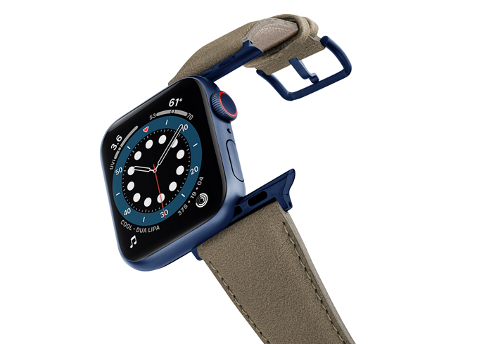 Strudel-Apple-watch-vegan-leather-band-flying-view_blue_case